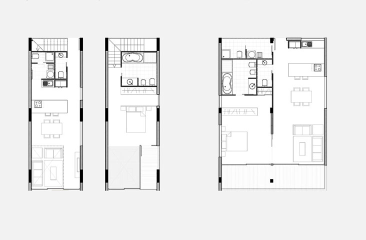 San isidro loft apartment atelier de luz l better design for Plan de loft